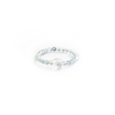 prstýnek, akvamarín, minerální kamen, prstýnek s kamenem