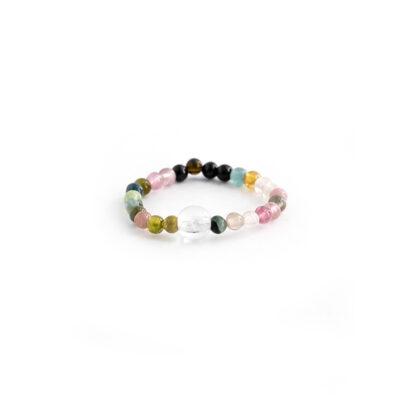 minerální kameny, turmalín, dárek, kaivalya, prstýnek z kamenů