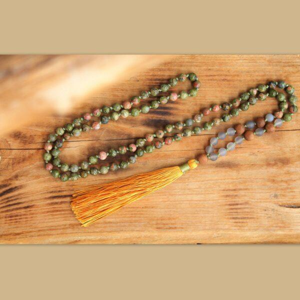 kaivalya japa malas, japa mala, osobní talisman, meditační pomůcka