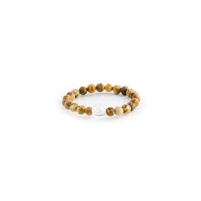 minerální kameny, jaspis, minerální prstýnek, dárek, křišťál
