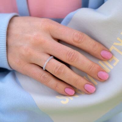 angelit, prstýnek, dárek, minerální kámen
